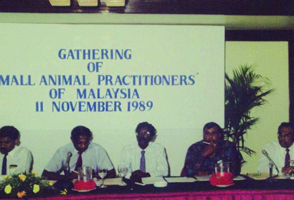 Gathering of Small Animal Practitioners of Malaysia 1989