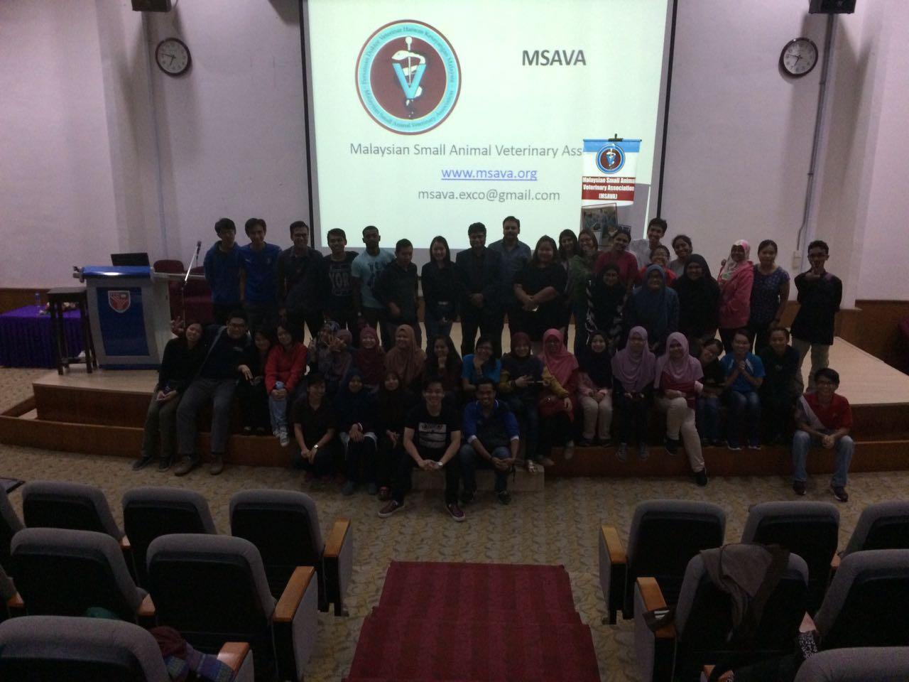 MSAVA Universiti Putra Malaysia Career Talk 2017