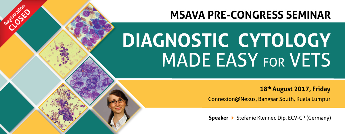 DIAGNOSTIC CYTOLOGY MADE EASY FOR VETS (REGISTRATION CLOSED)