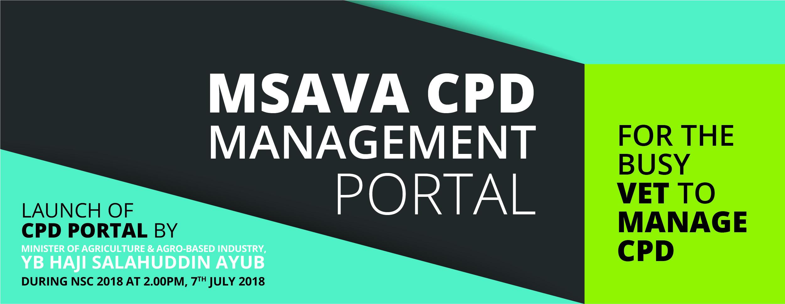 MSAVA CPD MANAGEMENT PORTAL