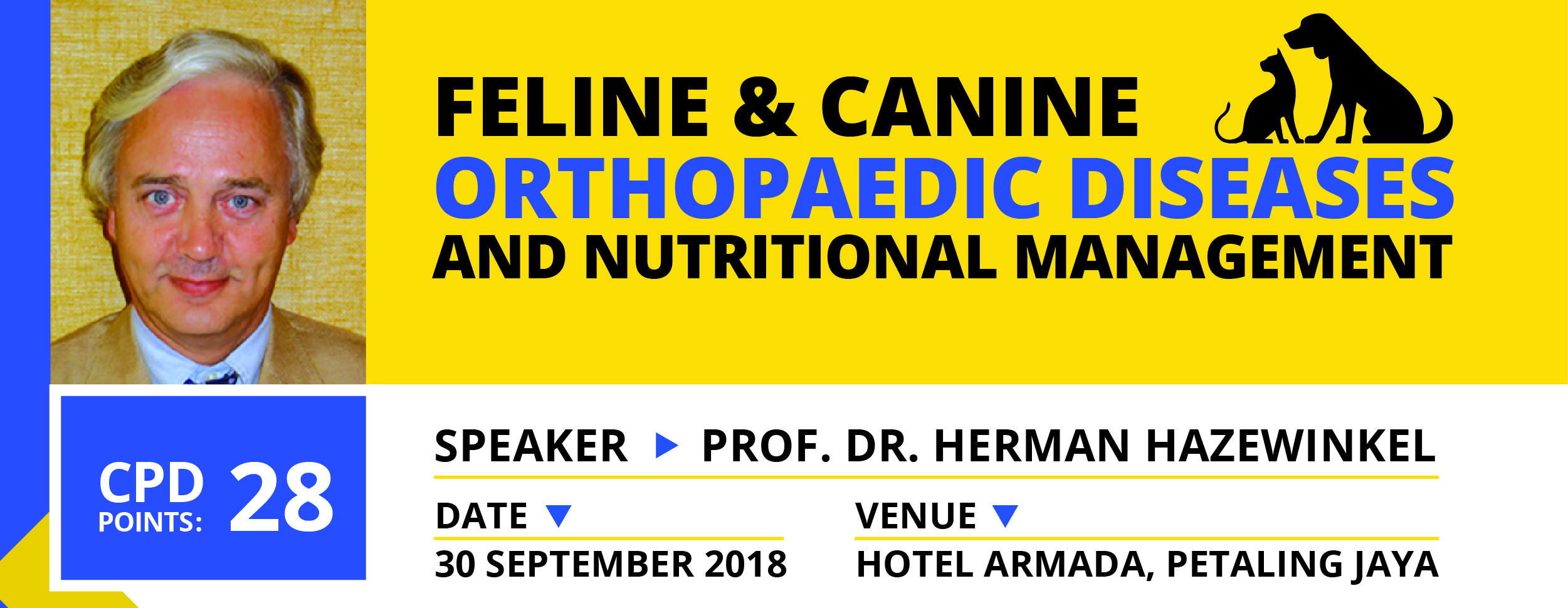 FELINE & CANINE ORTHOPAEDIC DISEASES AND NUTRITIONAL MANAGEMENT
