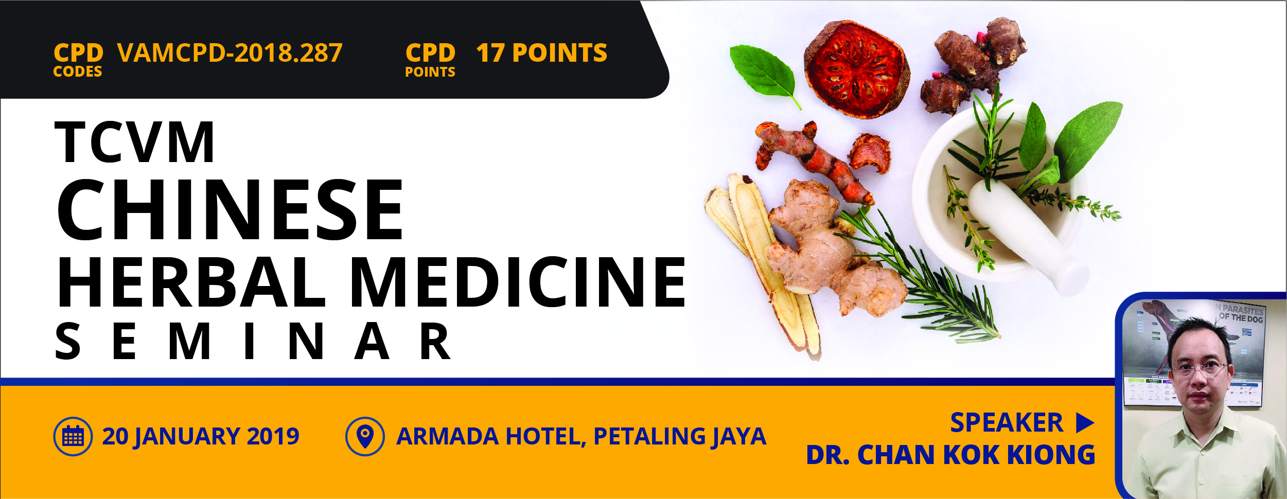TCVM – Chinese Herbal Medicine Seminar