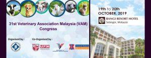31ST VETERINARY ASSOCIATION MALAYSIA (VAM) CONGRESS @ BANGI RESORT HOTEL, SELANGOR, MALAYSIA
